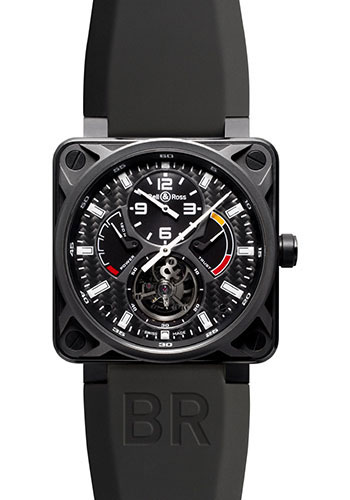 Bell & Ross Watches - BR 01 Tourbillon Carbon - Style No: BR 01 Tourbillon