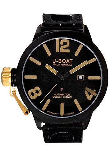 U-Boat Watches - Classico 53mm - Golden Crown - Style No: 1215