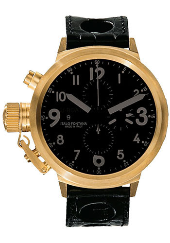 U-Boat Watches - Flightdeck 50 Yellow Gold - Style No: 1217