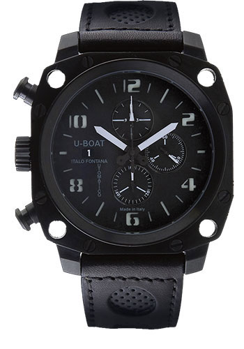 U-Boat Watches - Thousands Of Feet 50 Stainless Steel Chronograph - Style No: 1798