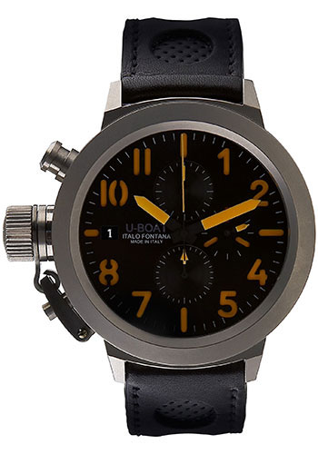 U-Boat Watches - Flightdeck 50 Titanium Chronograph - Style No: 1882