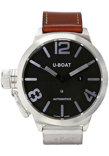 U-Boat Watches - Classico 45 Sterling Silver - Style No: 2060