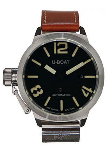 U-Boat Watches - Classico 45 Sterling Silver - Style No: 2083