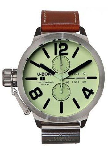 U-Boat Watches - Classico 53 Stainless Steel Chronograph - Style No: 2272