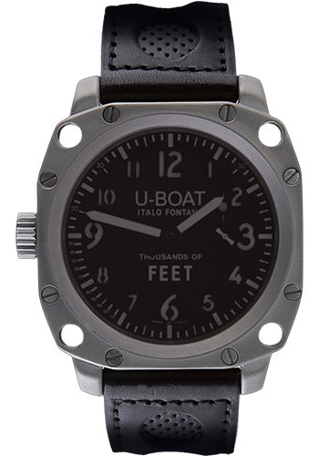 U-Boat Thousands Of Feet 50 Stainless Steel Matt Watches