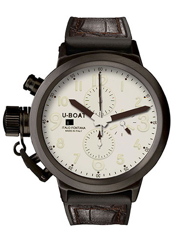 U-Boat Watches - Flightdeck 50 Cermaic Chronograph - Style No: 5414