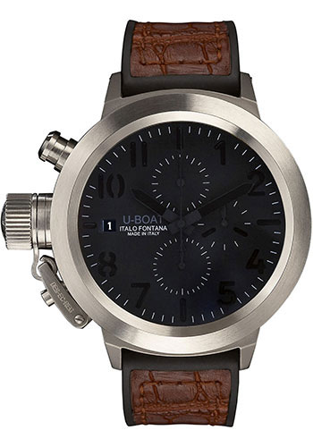 U-Boat Watches - Flightdeck 50 Titanium and Steel - Style No: 5415