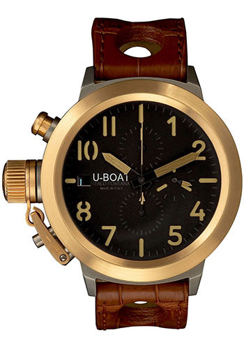 U-Boat Watches - Flightdeck 50 Titanium and Gold - Style No: 5416