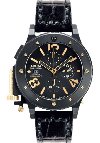 U-Boat Watches - U-42 Chrono Gold - Style No: 6473