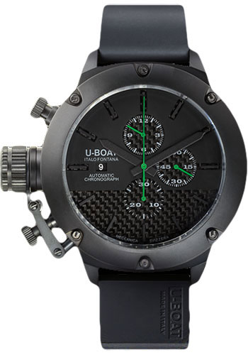U-Boat Watches - Classico 53mm - Titanium IPB Chrono - Style No: 6548