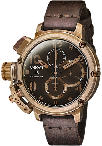 U-Boat Watches - Chimera 46mm - Bronze Chrono - Style No: 7474