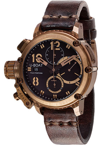 U-Boat Watches - Chimera 43mm - Bronze Chrono - Style No: 8014