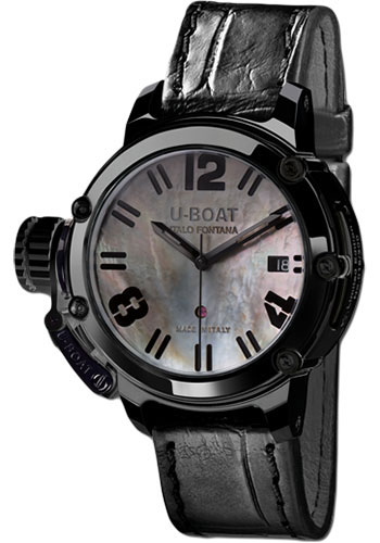 U-Boat Watches - Chimera 40mm - Black PVD - Style No: 8031