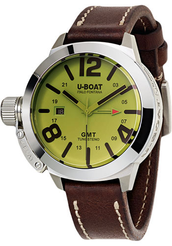 U-Boat Watches - Classico 45mm - BE GMT - Style No: 8051