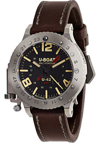 U-Boat Watches - U-42 50 GMT GMT - Style No: 8095