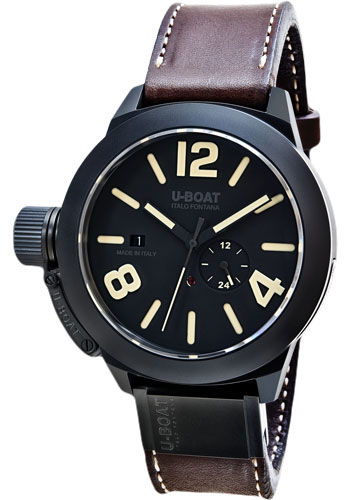U-Boat Watches - Classico 48mm - Black Ceramic - Style No: 8107