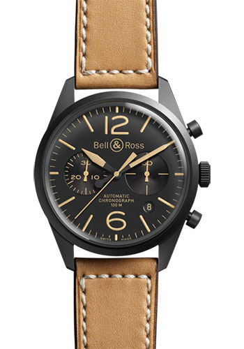 Bell & Ross Watches - Vintage BR 126 Chronograph Heritage - Style No: BRV 126 Heritage