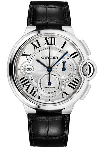 Cartier Watches - Ballon Bleu 44mm - Stainless Steel - Style No: W6920078